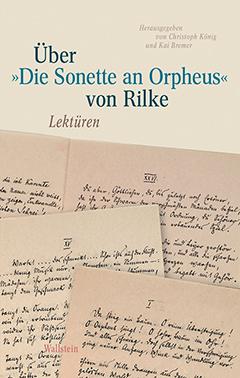 Sonette an Orpheus. Lektüren – Buchcover