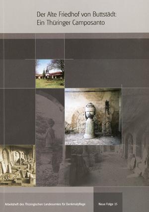 Der Alte Friedhof von Buttstädt – Buchcover