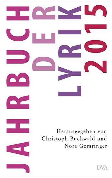 Jahrbuch der Lyrik 2015 – Buchcover