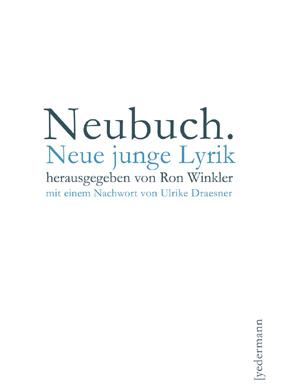 Neubuch – Buchcover